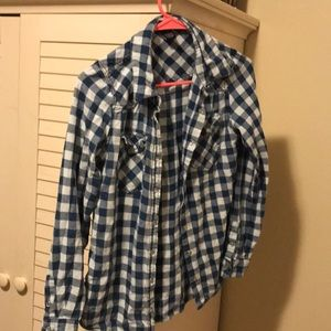Snap up flannel